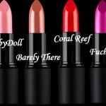 Novos batons  Sleek Makeup
