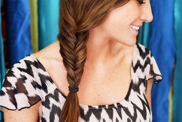 How to do Fishtail Braid