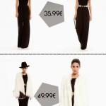 Black&White glam look, by Bershka.