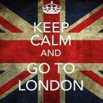 London, here I go!
