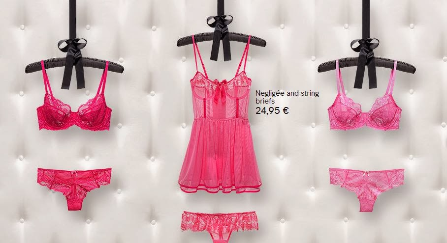 H&M Lingerie for Valentine's Day