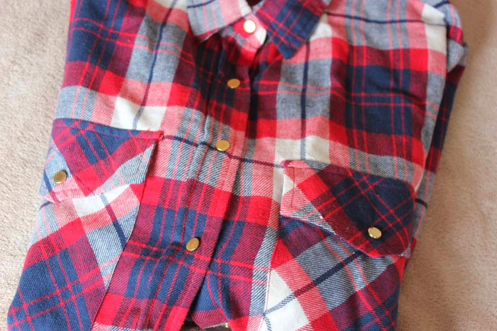 Camisa xadrez Primark Primavera 2014