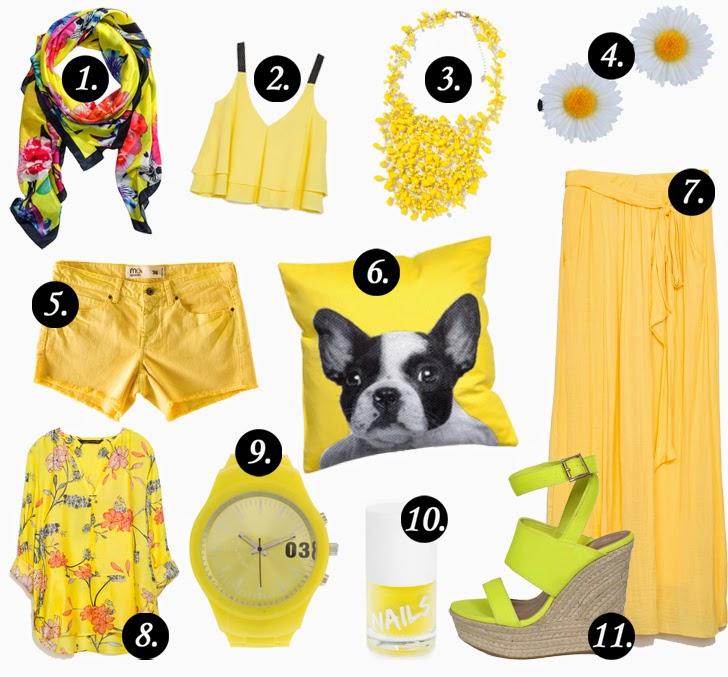 Trend Alert: Yellow