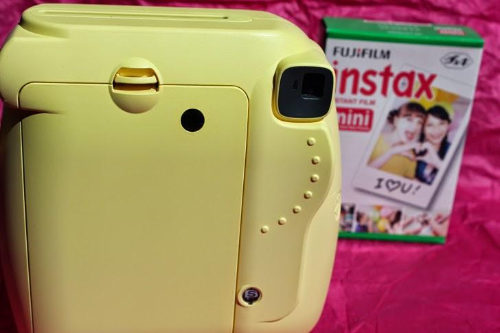 Instax Mini 8 Amarela
