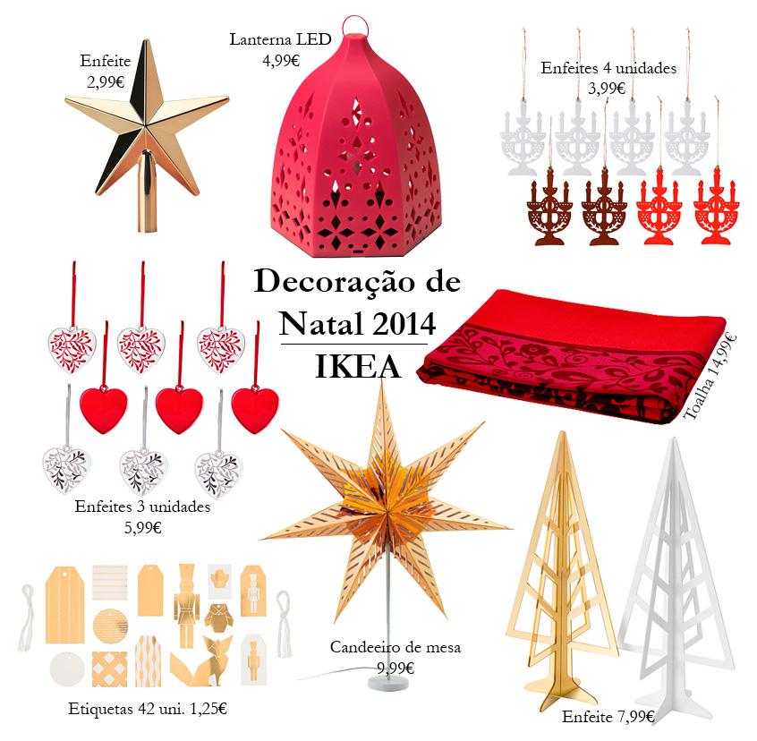 Decoração de NATAL IKEA