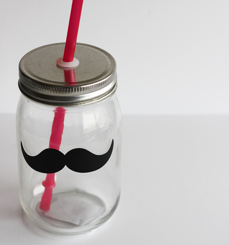 Tiger Store Cup with moustache
