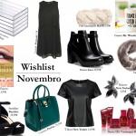Wishlist de Novembro