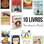 10 livros para oferecer este Natal