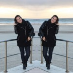 Winter sunset | OOTD
