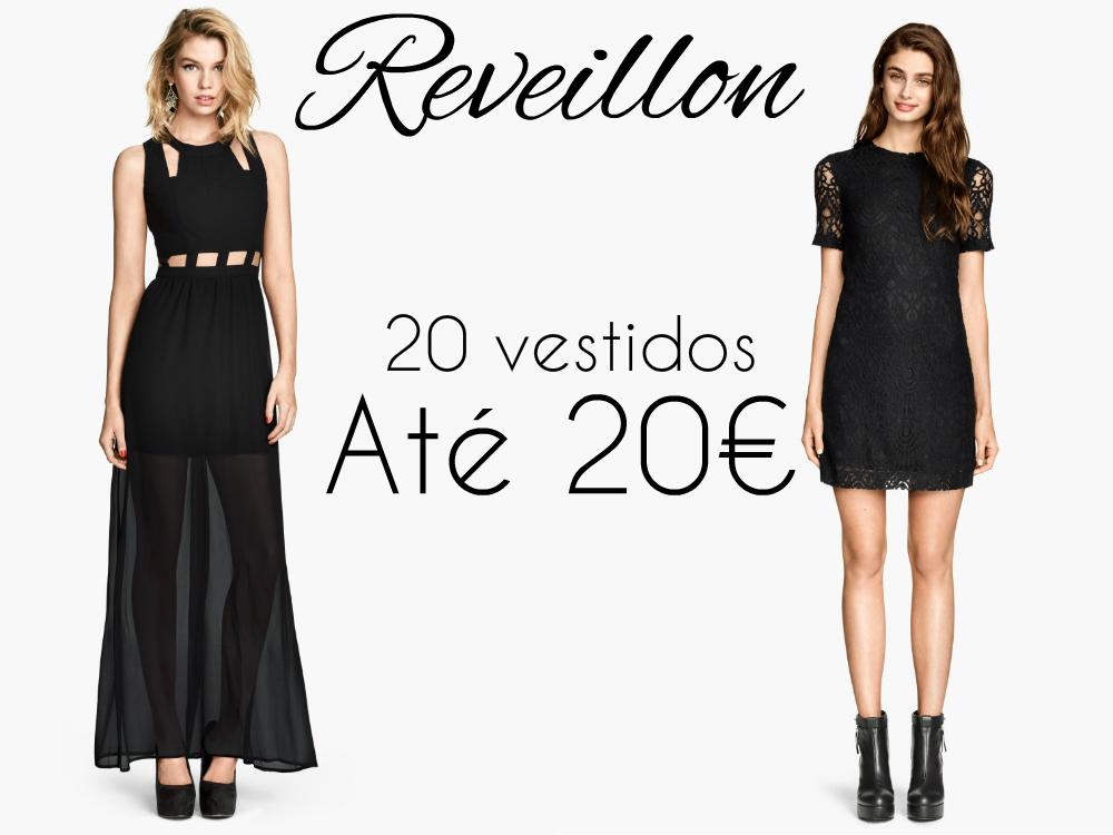 20 vestidos até 20€ Vestidos low cost Reveillon