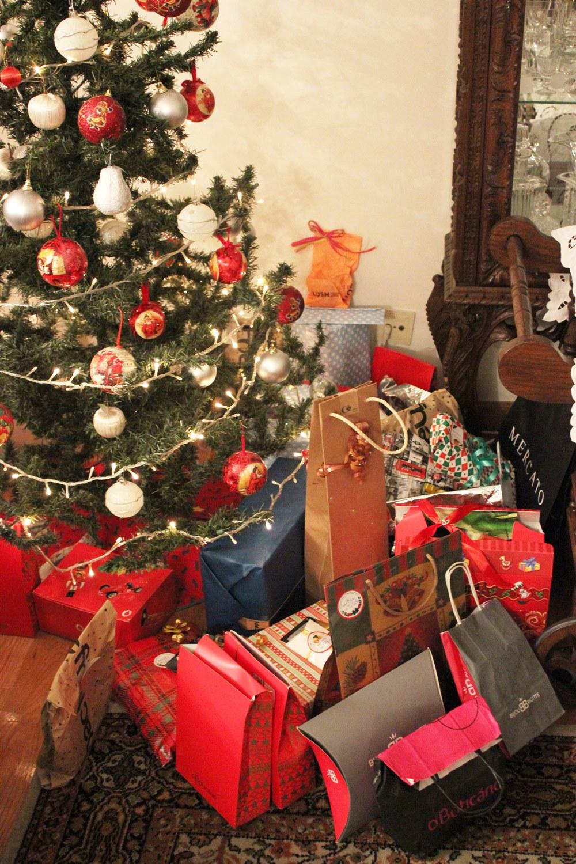 Árvore de Natal Presentes