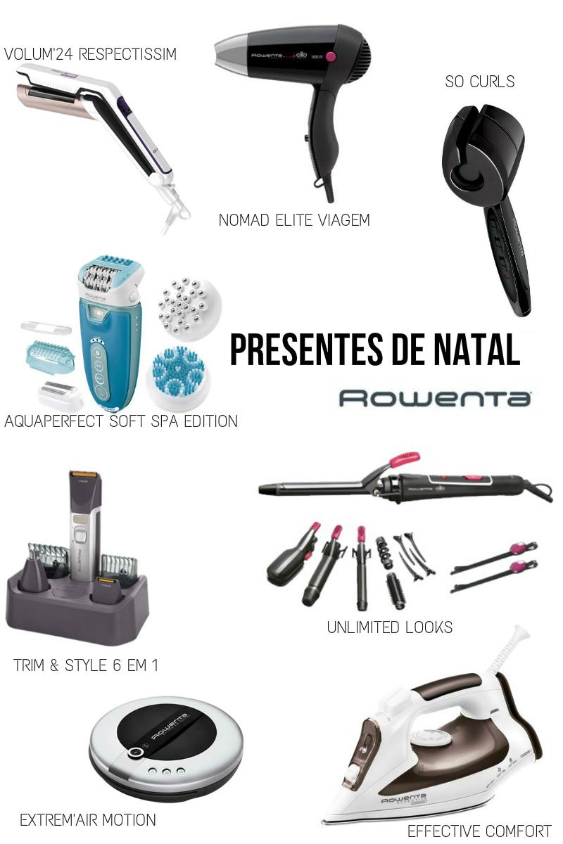 Presentes de Natal 2014 Rowenta
