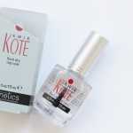 Indispensável: Verniz Top Coat Kwik Kote | Review