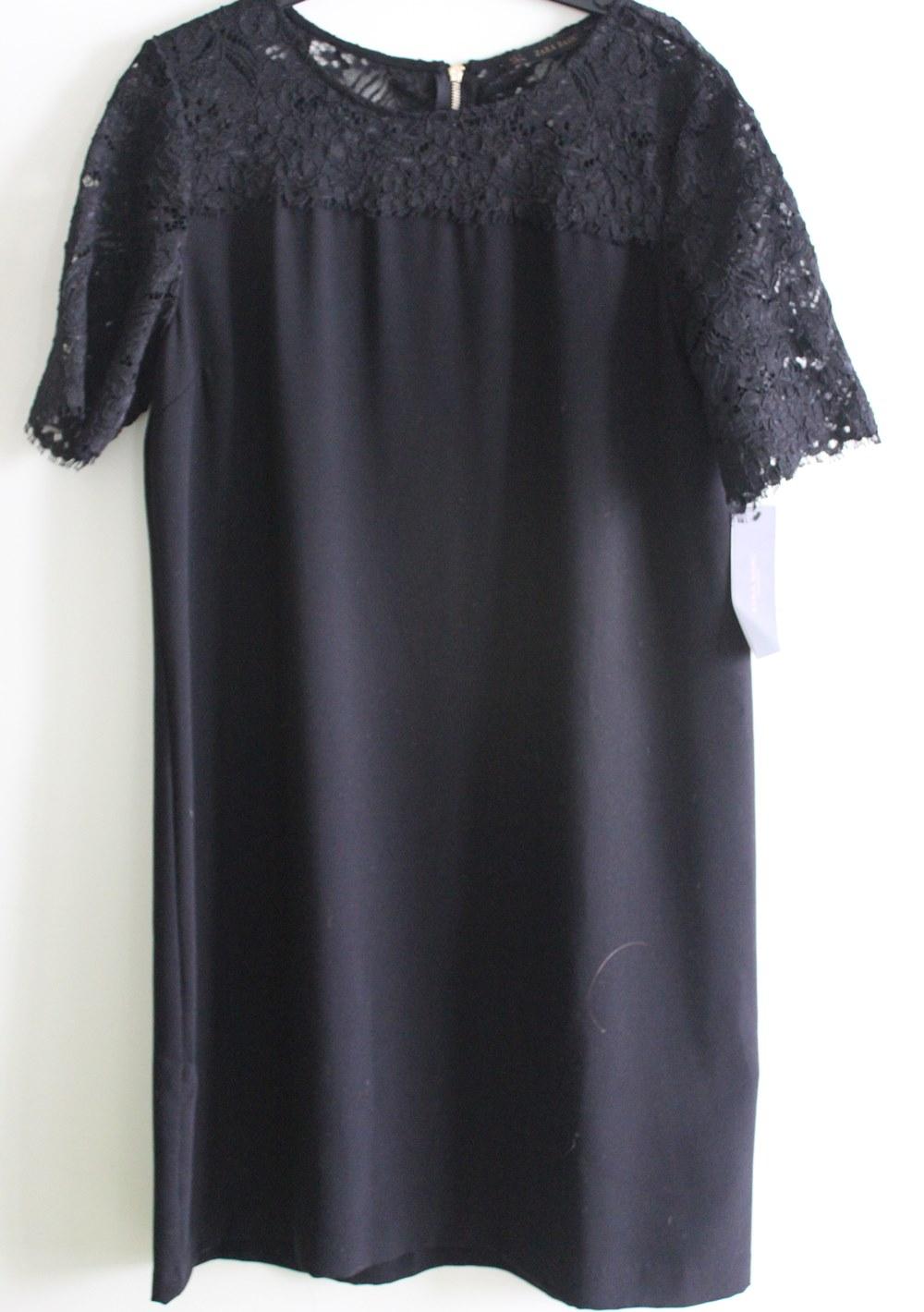 Vestido ZARA preto renda