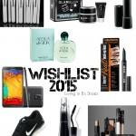 Wishlist para 2015