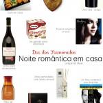 Dia dos namorados: Noite romântica em casa