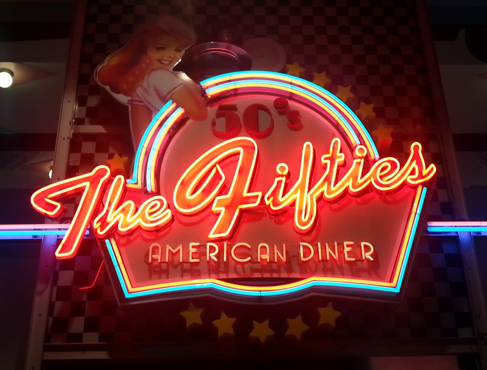 The 50's American Diner