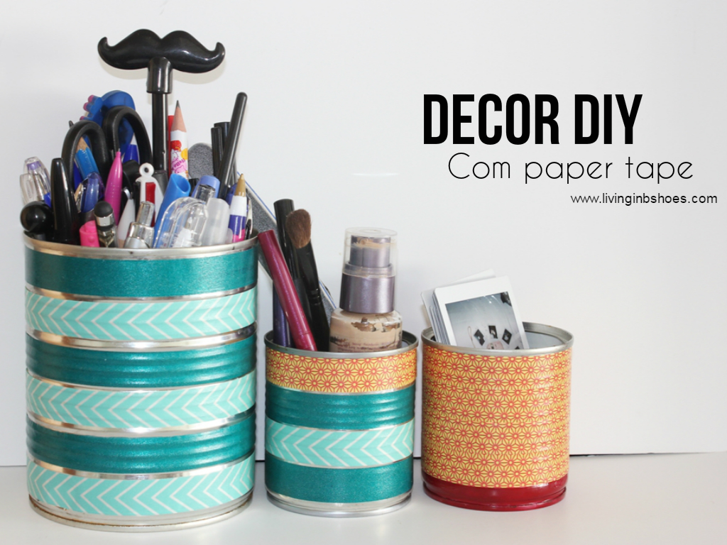 DIY Fita Adesiva Colorida