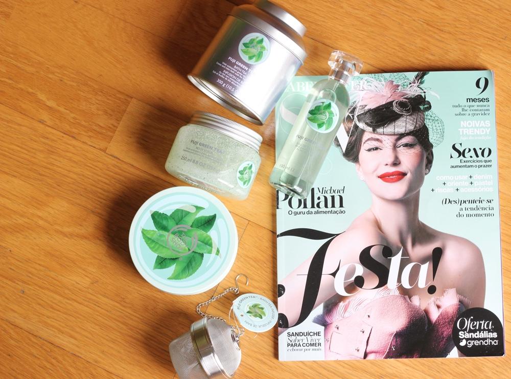 Fuji Green Tea Body Shop