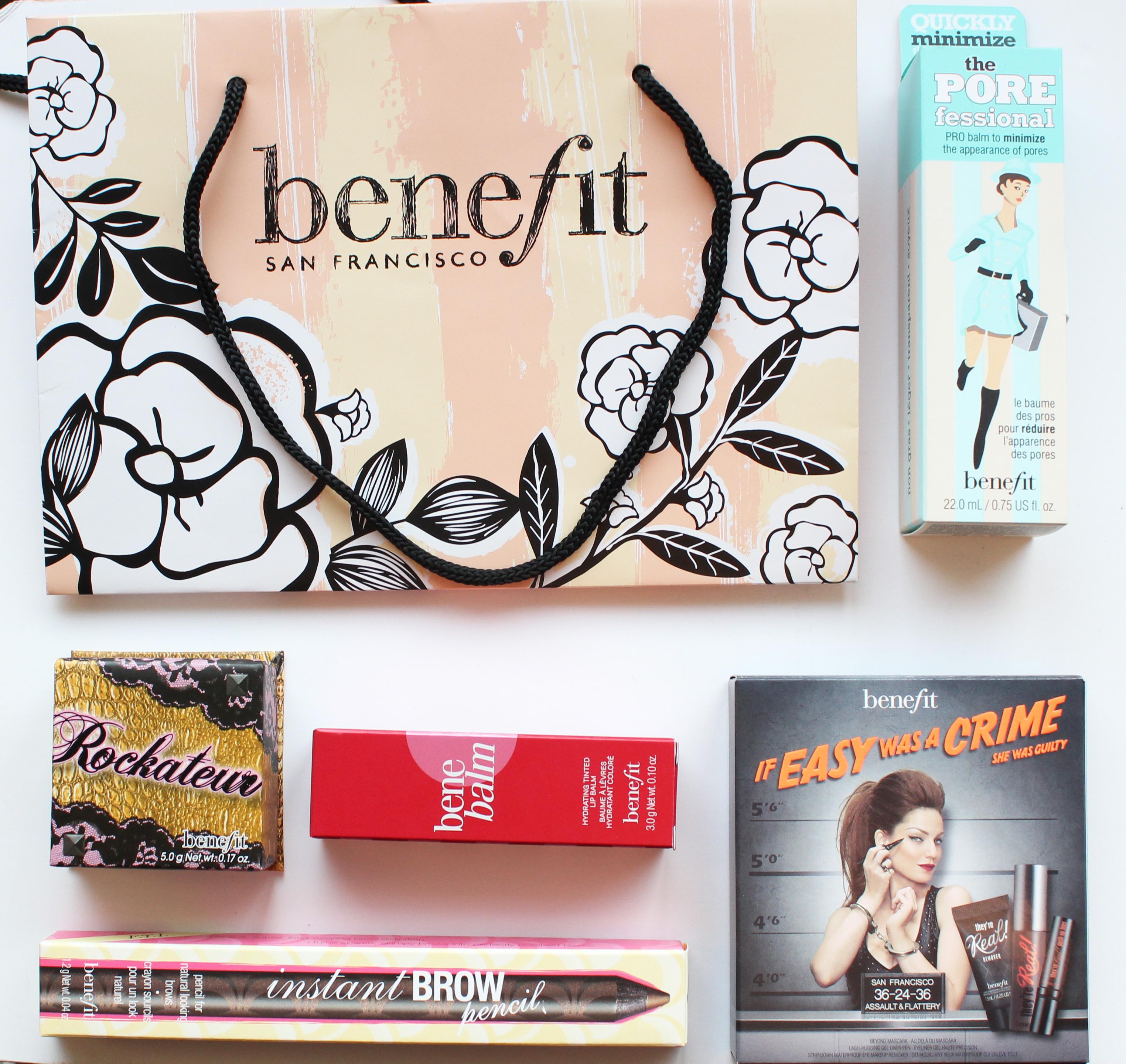 Benefit Cosmetics Beauty Bag
