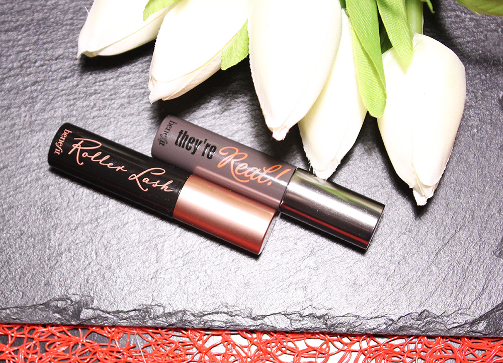 Benefit Roller Lashes vs They're Real