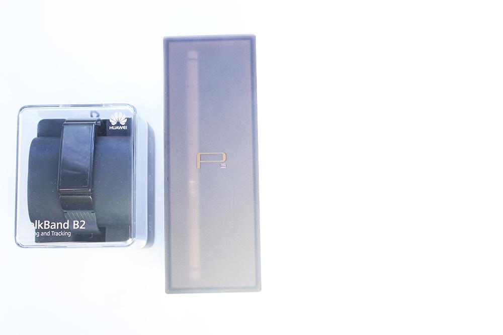 Huawei P8 + TalkBand B2