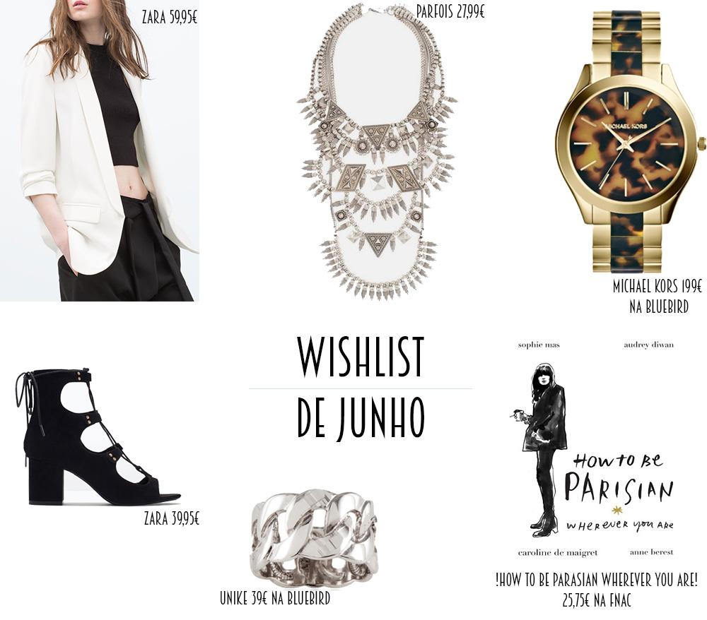 Wishlist de Junho