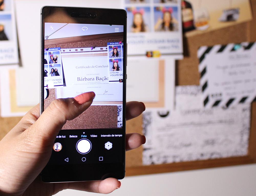Huawei P8 - Disparadores da câmara