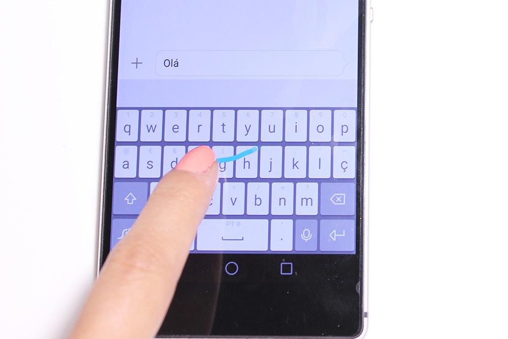 Huawei P8 - Teclado Swype incorporado