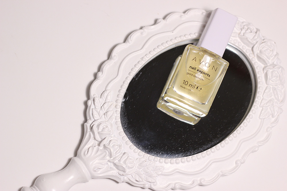 verniz endurecedor AVON Nail Experts Gold Strenght