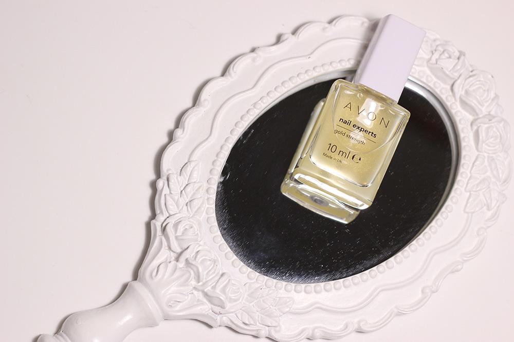verniz endurecedor AVON Nail Experts Gold Strenght