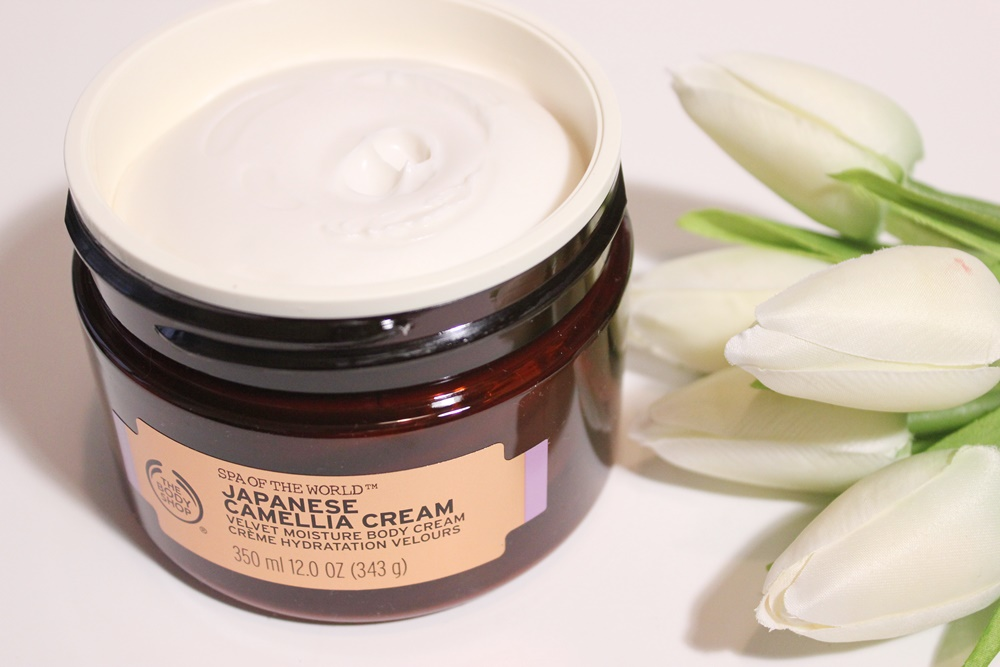 Japanese Camelia Cream - The Body Shop Spa of the World