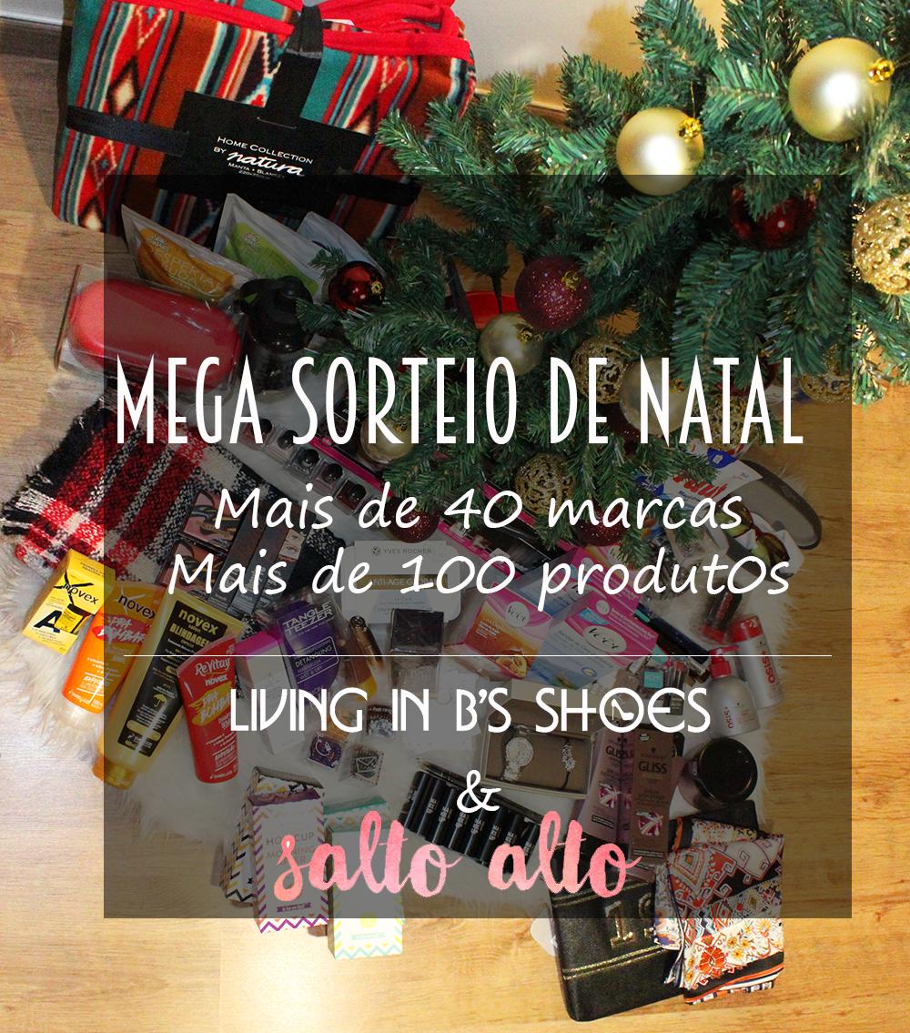 MEGA SORTEIO 2 Cabazes de Natal