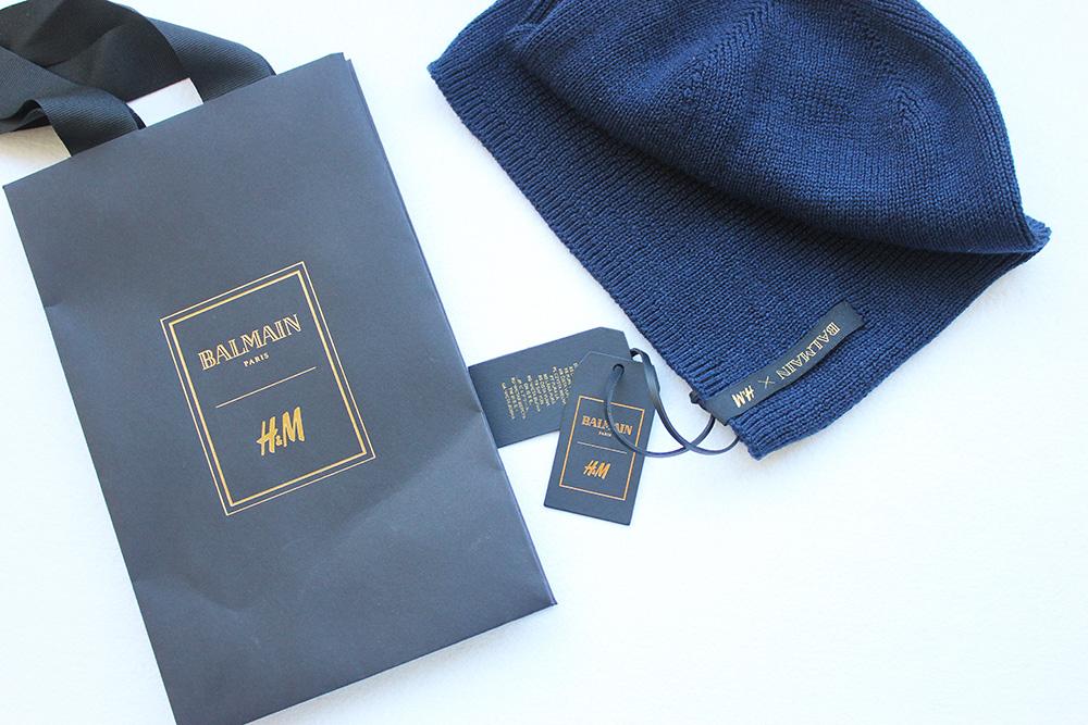 SORTEIO 2 gorros Balmain x H&M