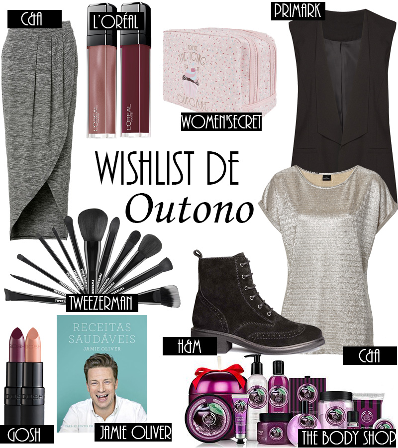 Wishlist de Outono
