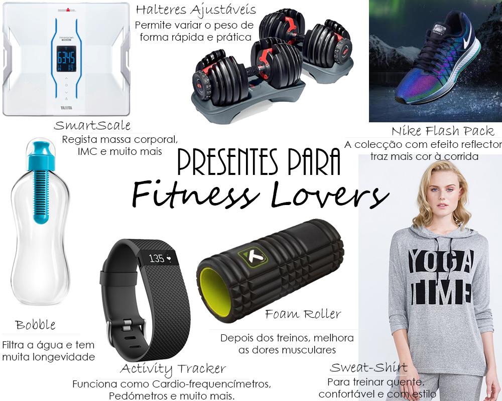 Presentes Para Fitness Lovers