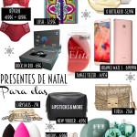 Presentes de Natal para elas