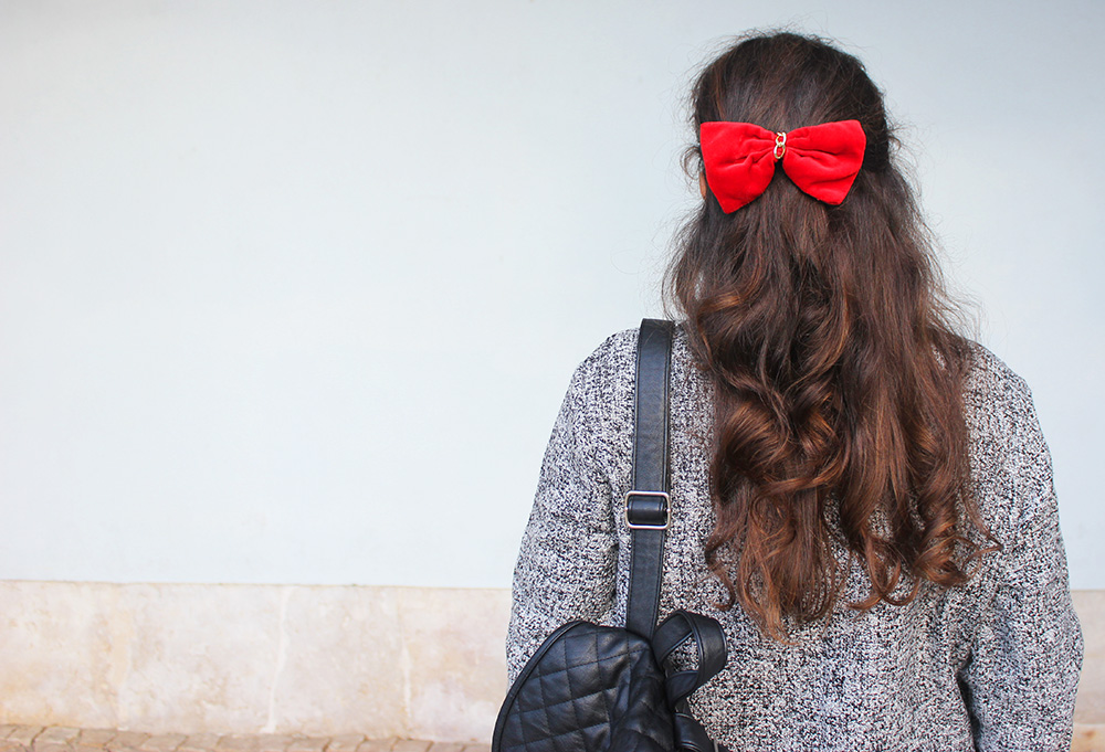 Secret Red Bow