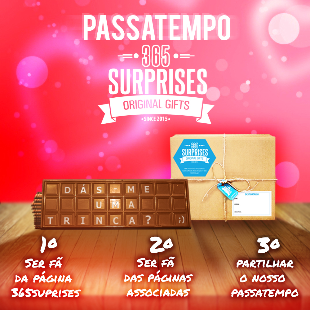 1 Caixa surpresa 365Surprises
