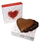 1 coração grande de chocolate de leite, da Arcádia | Sorteio Dia dos Namorados