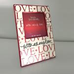 Uma moldura Bairro Arte | Sorteio Dia dos Namorados