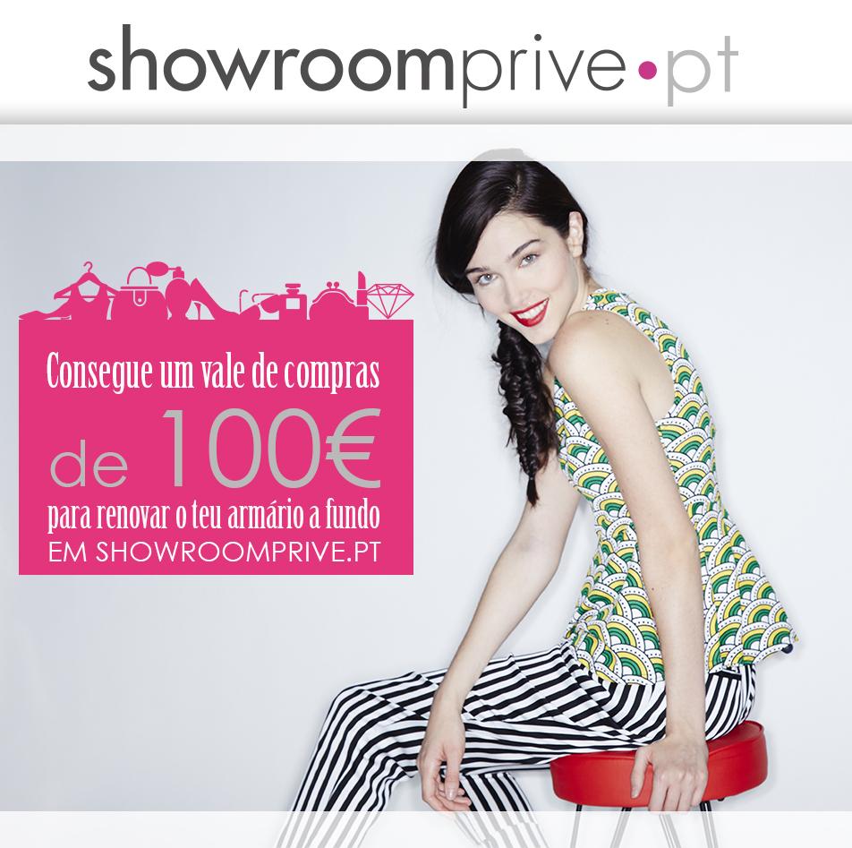 fico muito contente por vos podermos proporcionar este passatempo onde temos um vouche de 100€ para gastarem em Showroomprive.pt .