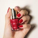 O verniz com óleos da L'Oréal paris