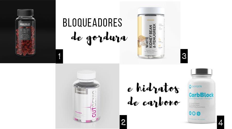 Bloqueadores de gordura e de hidratos de carbono