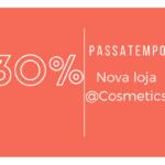 30% de desconto na tua nova loja de beleza | #Giveaway