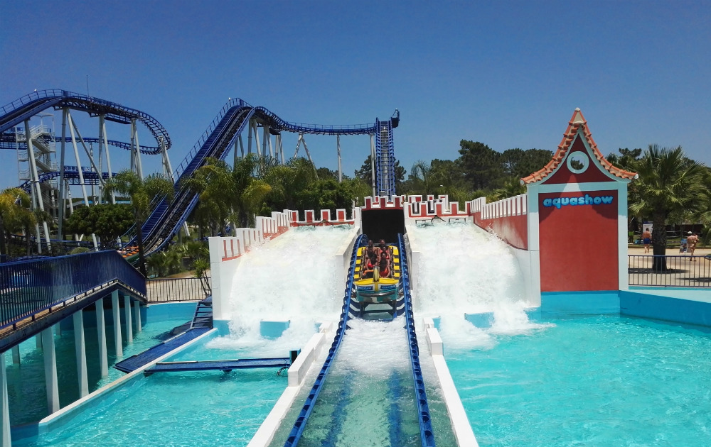 Montanha Russa AquaShow Park 1