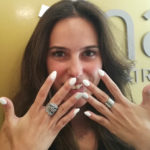 Primeiros preparativos para o casamento: unhas e pestanas