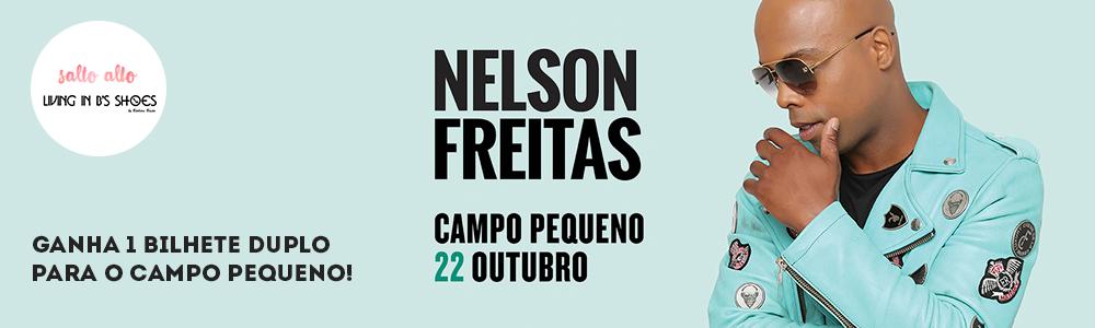 Queres ganhar um bilhete duplo para o concerto do Nelson Freitas