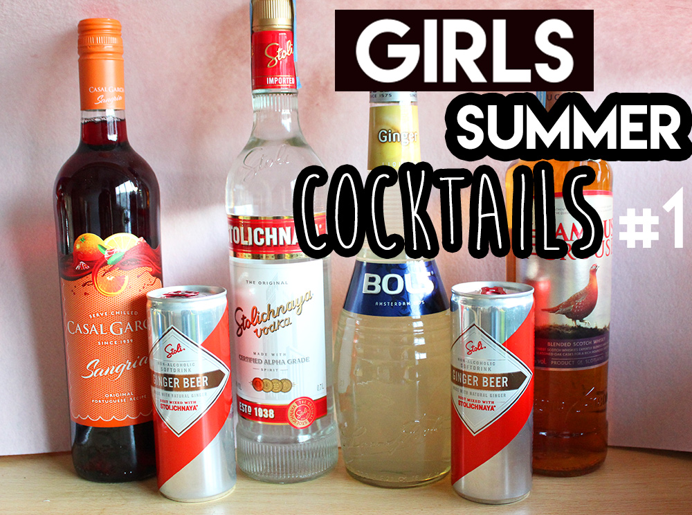 GIRLS Summer Cocktails