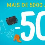 Últimos dias de descontos até 50% na La Redoute